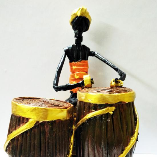 African Drum boy