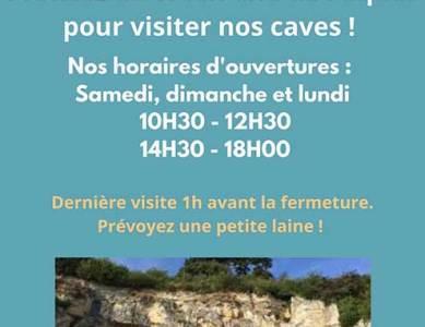 Profitez du week-end de Pâques pour visiter nos caves