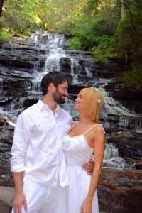 Minnehaha Falls waterfall wedding location
