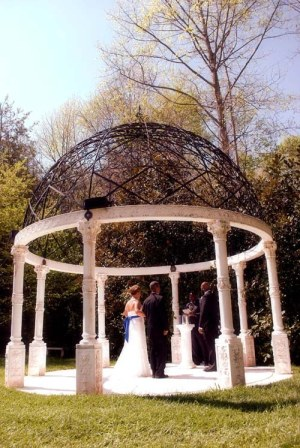Old World Gazebo- Home for elopements in Georgia