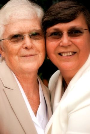 Same Sex Midlife Weddings Couple