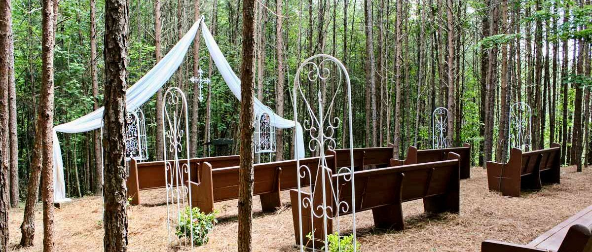 Outdoor Wedding Venues Georgia Out There Outdoor Wedding Chapel