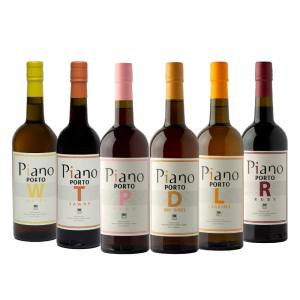 6 Vinhos do Porto Piano
