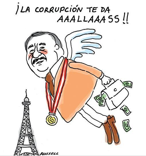 Caricatura de Rosell