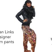 Cuba Link Designer Harem Pants Full1