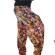 Cuba Links Designer Harem Pants side