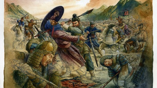 Christian Jégou: the battle of Talas (or Taraz), 751