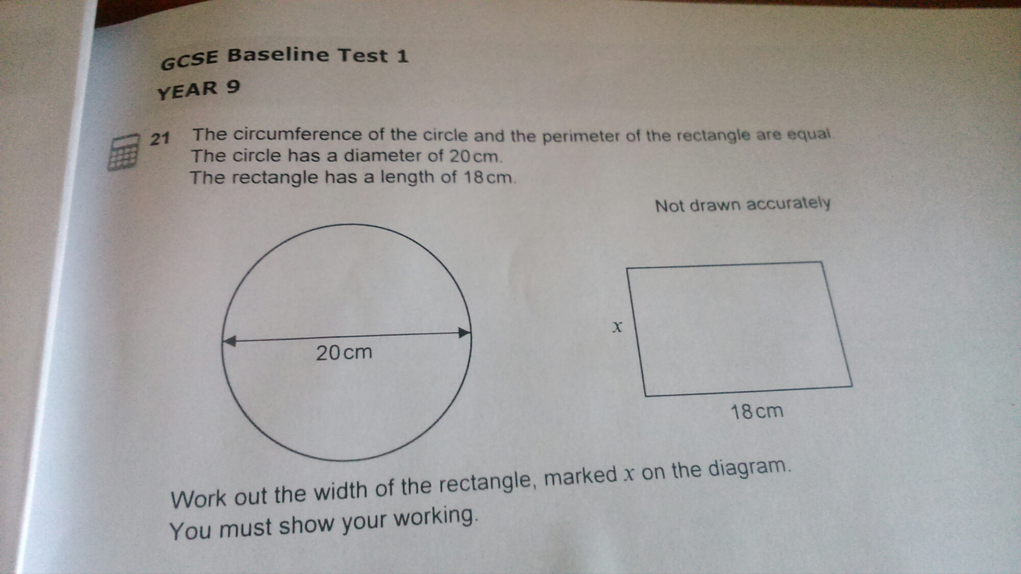 Do Circle Theorems A Gcse Higher Maths Worked Exam Paper