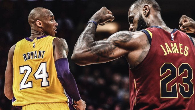 Image result for kobe and lebron