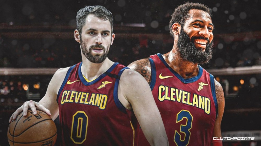Kevin Love, Andre Drummond, Cavs