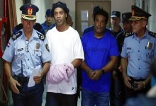 Photo of أول صورة لرونالدينيو من داخل السجن في باراغواي