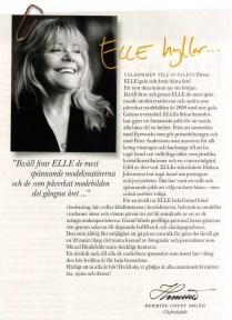ELLE-gala program