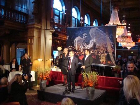 Invigningstal för Francesco Valentino vernissage