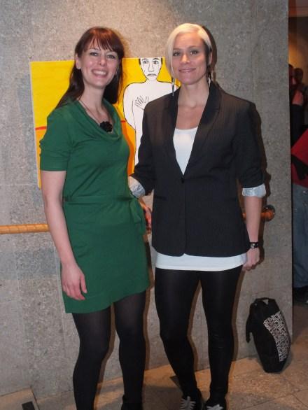 Mia Jorpes & Angela Monroe