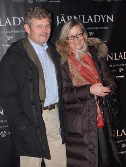 Peter Wallenberg med fru