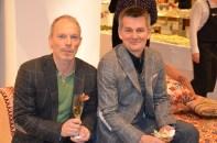Pekka Heino med vän