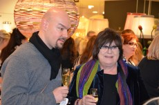 Margareta van den Bosch med vän