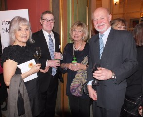 Lars Lind & Anita Wall med Ann-Louise Hansson & Bruno Glenmark