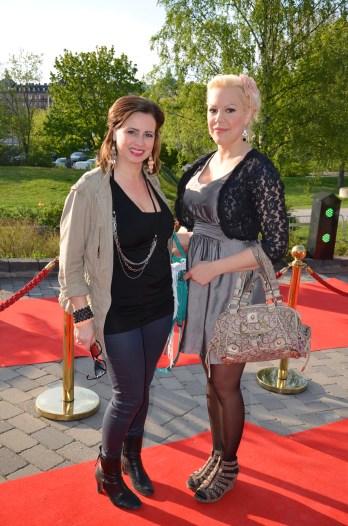 Marie Granberg med kompis