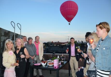 Terrass skål med ballong