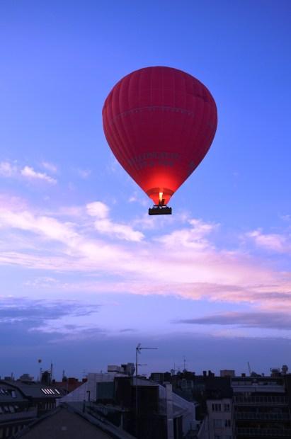Ballong över Östermalm