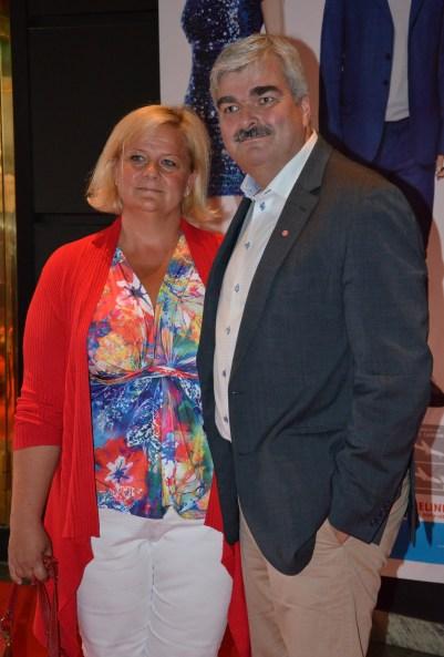 Håkan Juholt med fru