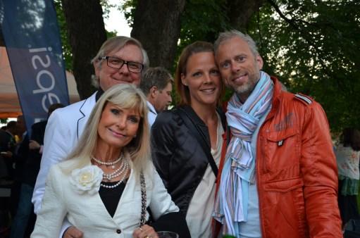 Leif & Ann Schulman med vänner