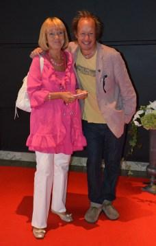 Vicky von der Lancken med Johan