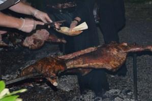 utdelning av lammkött