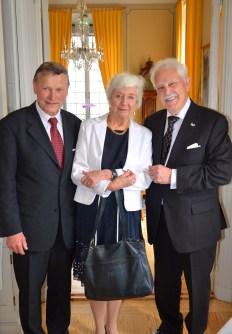 Pianisten Karl-Otto Hagen-Olsen och redaktör Eva Dickson.