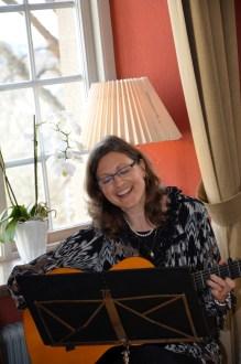 Härliga slovakiska sånger framfördes av kulturrådet Anna-Katarina Schatzl.