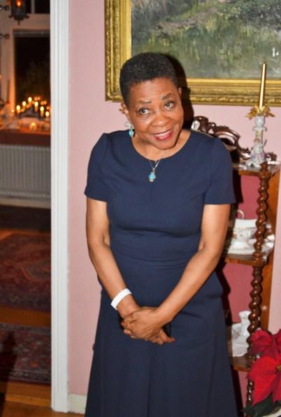 En fantastisk intressant presentation om julfirandet i Sydafrika av Ambassadör Faith Doreen Radebe.