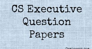 CS Executive Question Papers Dec 2016 to June 2009