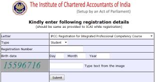 Download ICAI Registration Letter Online | CPT IPCC Final