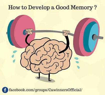 How to Develop a Good Memory For CA CMA CS Students