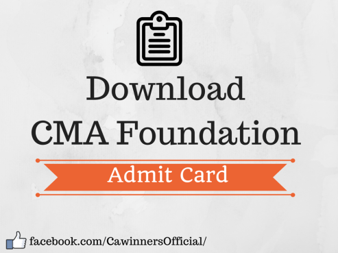 ICWAI Foundation Admit Card Dec 2015