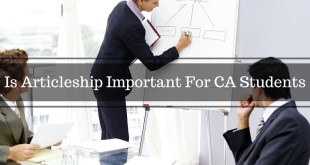 Is Articleship Important For CA Students