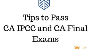 How to Pass CA IPCC and CA Final ICAI Chairman's Message