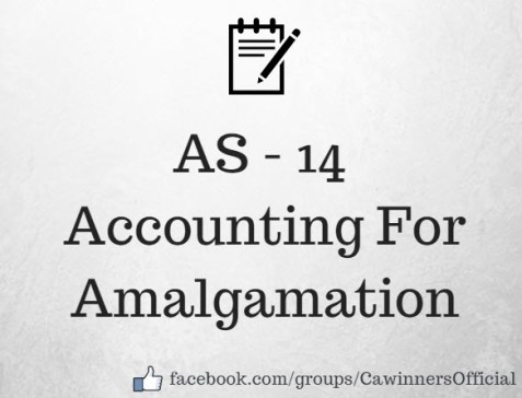 AS 14 Accounting For Amalgamation Revised Summary PDF