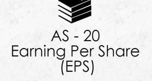 AS 20 Earning Per Share (EPS) Best Summary Notes PDF