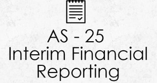 AS 25 Interim Financial Reporting Format Notes | ICAI