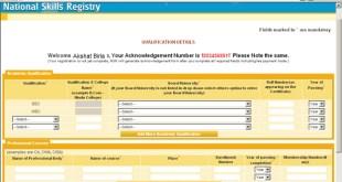 National Skills Registry (NSR) Registration Steps and Benefits