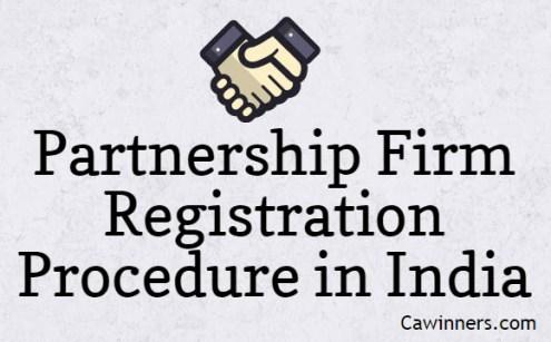 Partnership Firm Registration Procedure in India | Partnership Deed