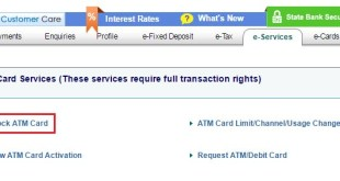 SBI ATM Block | How to Block SBI ATM Card