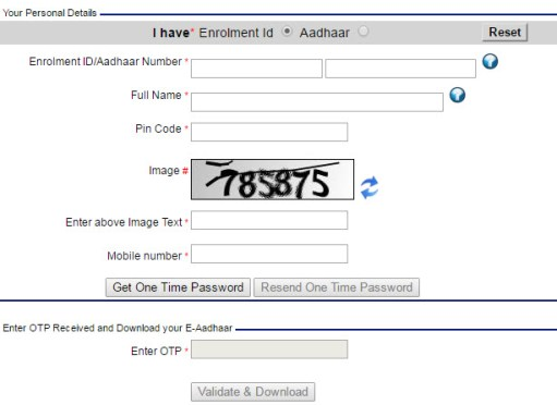 How to Download Aadhar Card Online with Aadhar Number | PDF