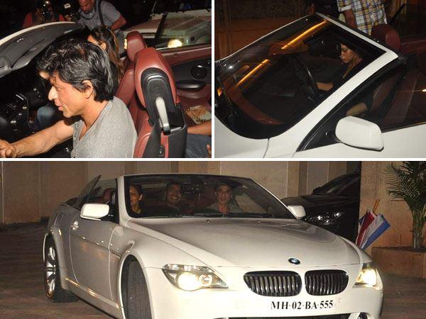 Shahrukh Khan BMW-6-Series-Convertible