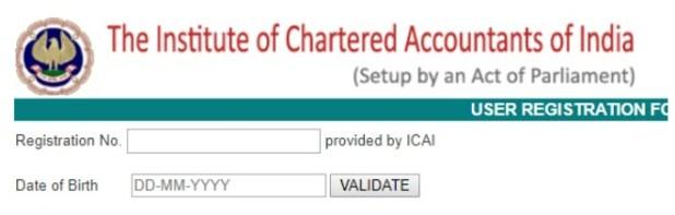 ICAI Student Registration Details