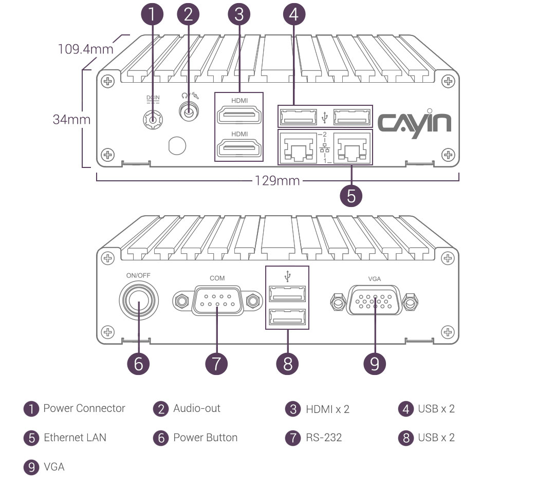 Cayin Tech