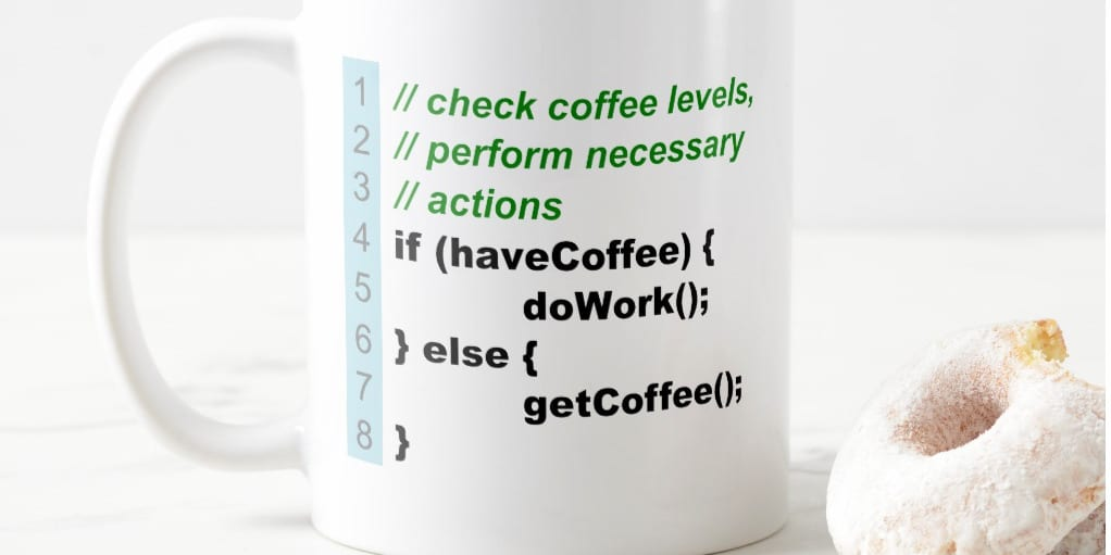 Link to buy Developer Coffee Mug