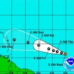 Tropical storm expected to become hurricane